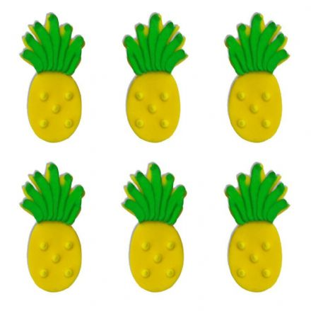 Tropical Pineapple Sugar Decorations